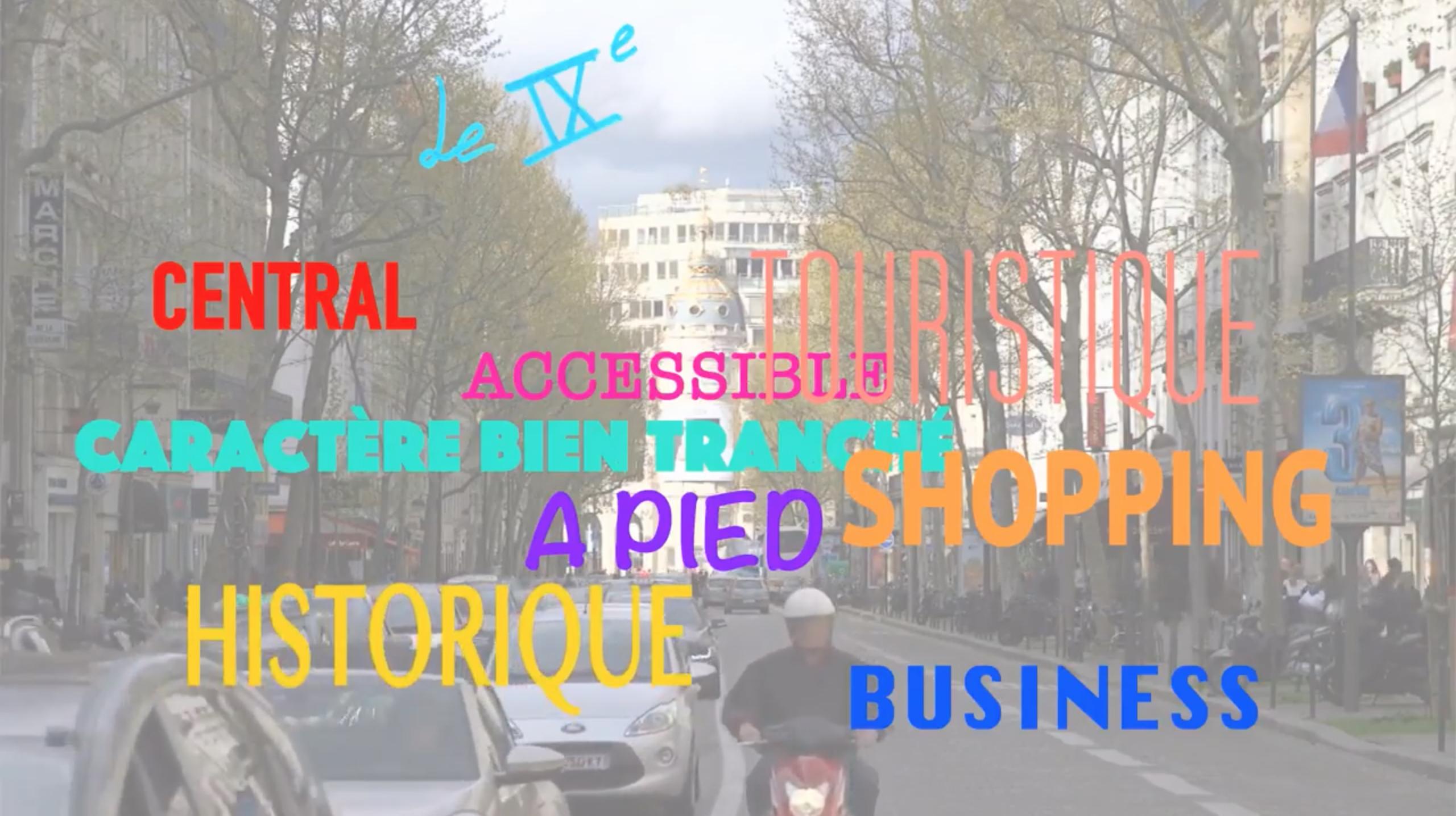 Les mots-clés du 9ème arrondissement