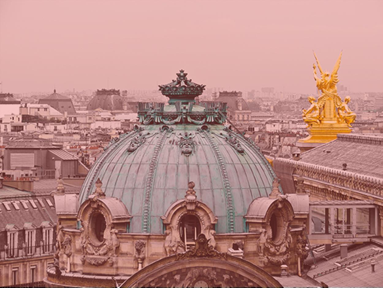 Vue rooftop Galeries Lafayette Hausmann