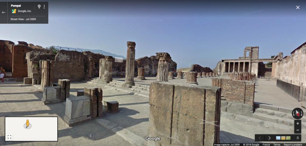Visite virtuelle de Pompéi