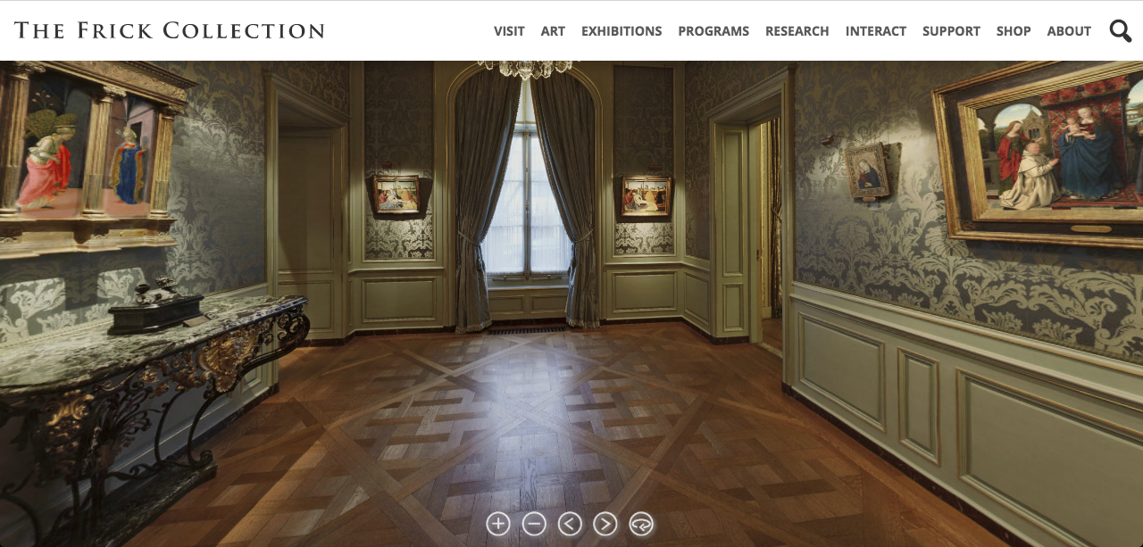 Visite virtuelle The Frick Collection New York