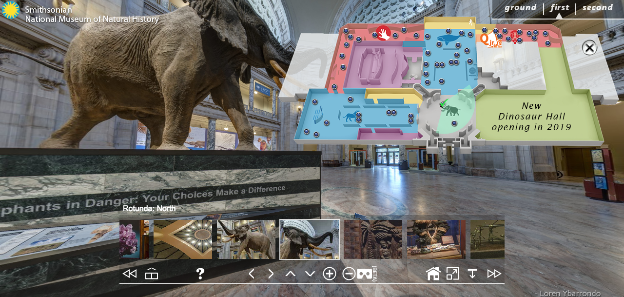 Visite virtuelle du National Museum of Natural History (Washington)