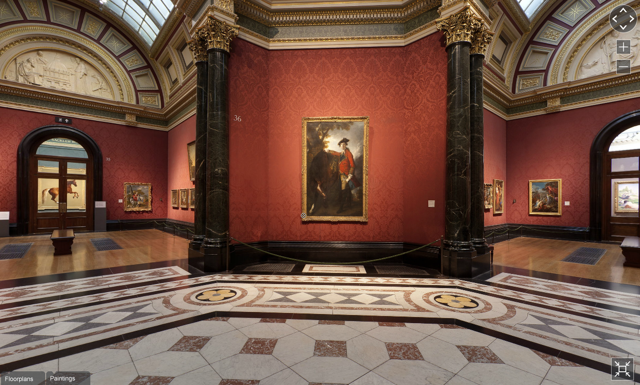 Visite virtuelle The National Gallery (London)