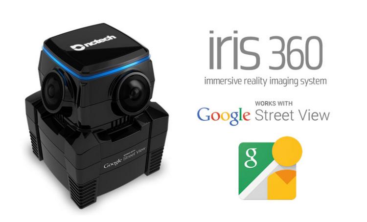 Matériel de visite virtuelle Caméra Iris 360