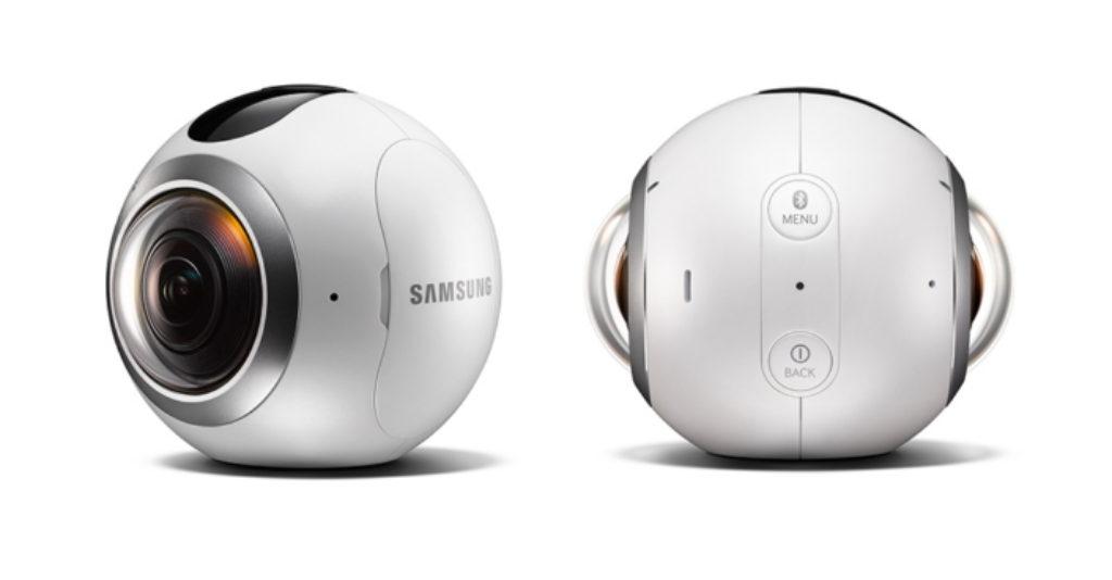 Matériel de visite virtuelle Samsung Gear 360