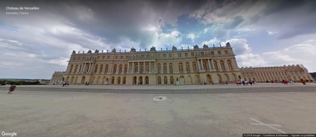 Visite virtuelle du Château de Versailles