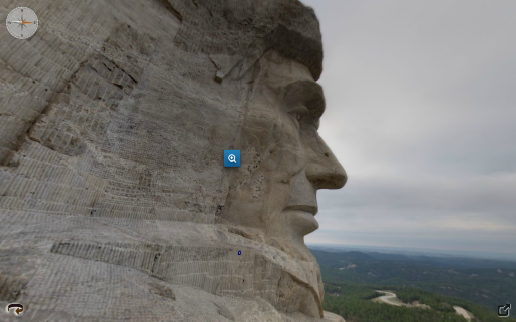 Visite virtuelle du Mont Rushmore
