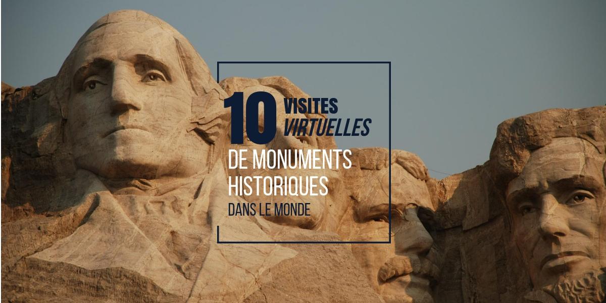 Visites virtuelles de monuments historiques dans le monde