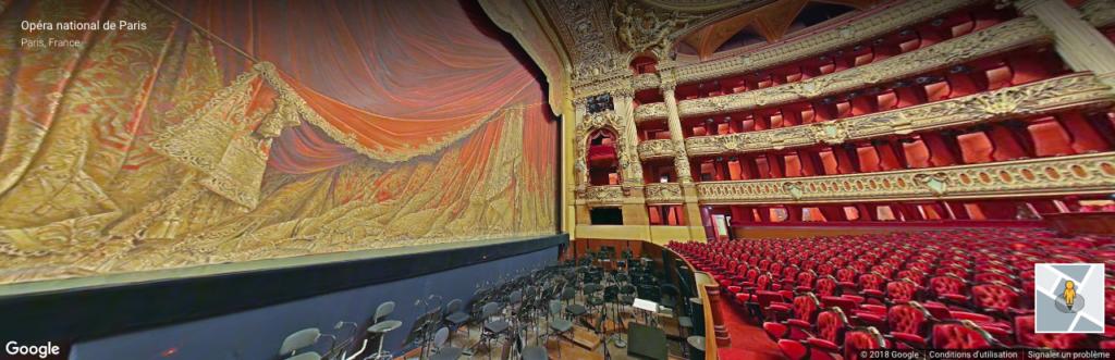 Visite virtuelle de l'Opéra Garnier